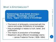 epistemological questions2